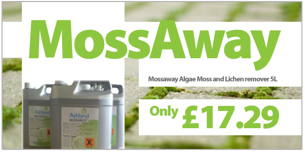 Mossaway Moss and Algae Killer Remover