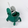 Bucket with plastic MAX450 wringer (Green)